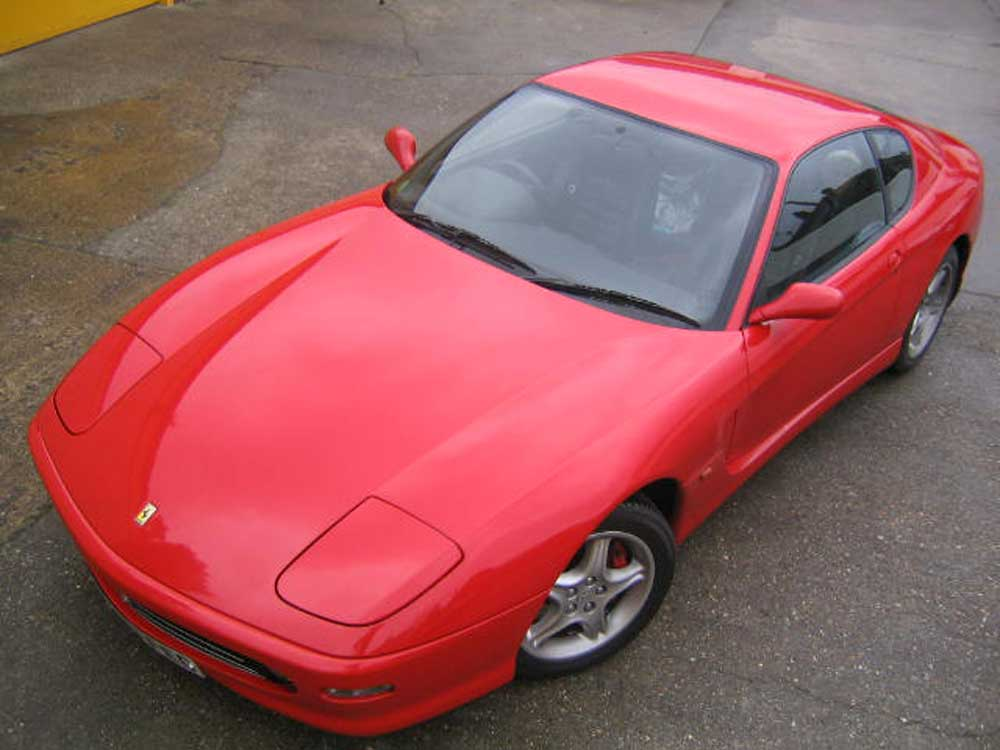 Arriving shortly 1999 Ferrari 456 M GTA