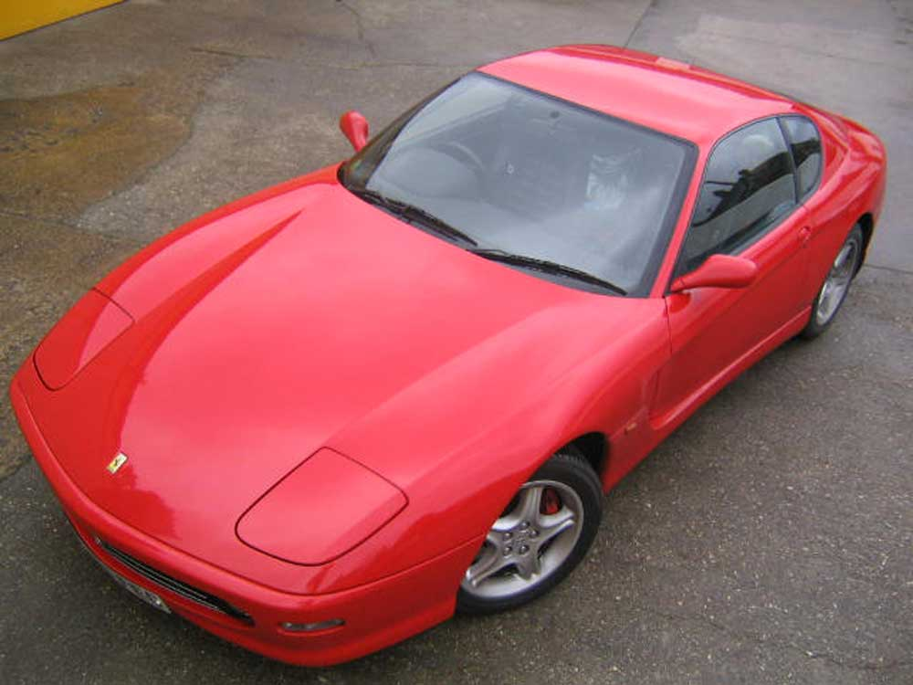 2003 Ferrari 456 Modficato 6-speed manual