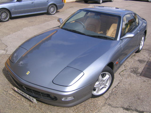 2002 Ferrari 456 MGTAutomatic -Uniquely specified