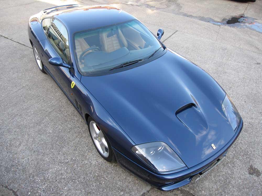 SOLD-ANOTHER REQUIRED 2000 Ferrari 550 Maranello