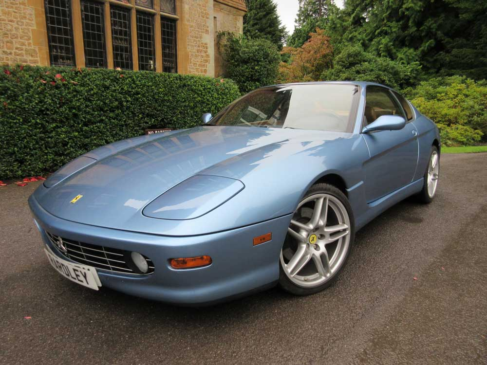 2000 Ferrari 456 M GT 6-speed manual.12,800 miles Left hand drive