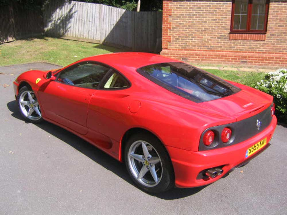 1999 360 F1 Modena-SOLD