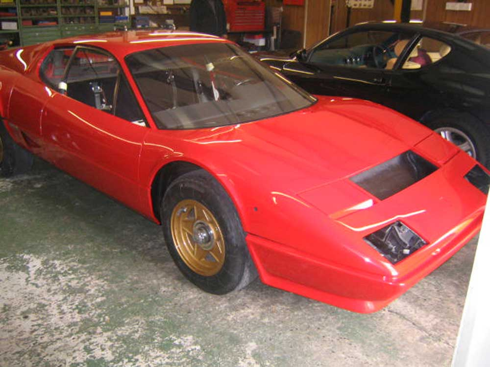 We don't just sell and service Ferrari-512BB restoration
