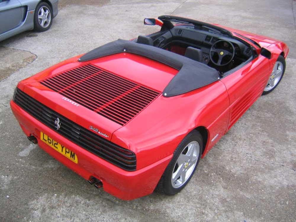 1993 Ferrari 348 Spider-�34,990