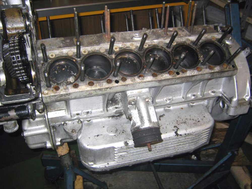 Second Daytona engine rebuild this year!