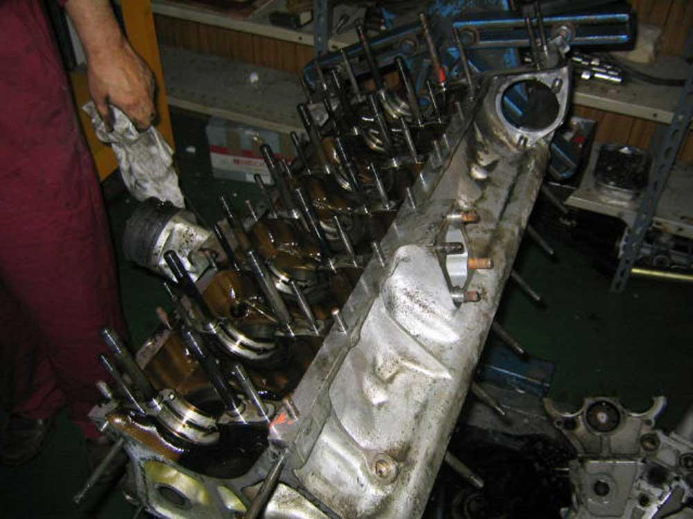 Daytona engine rebuild continues