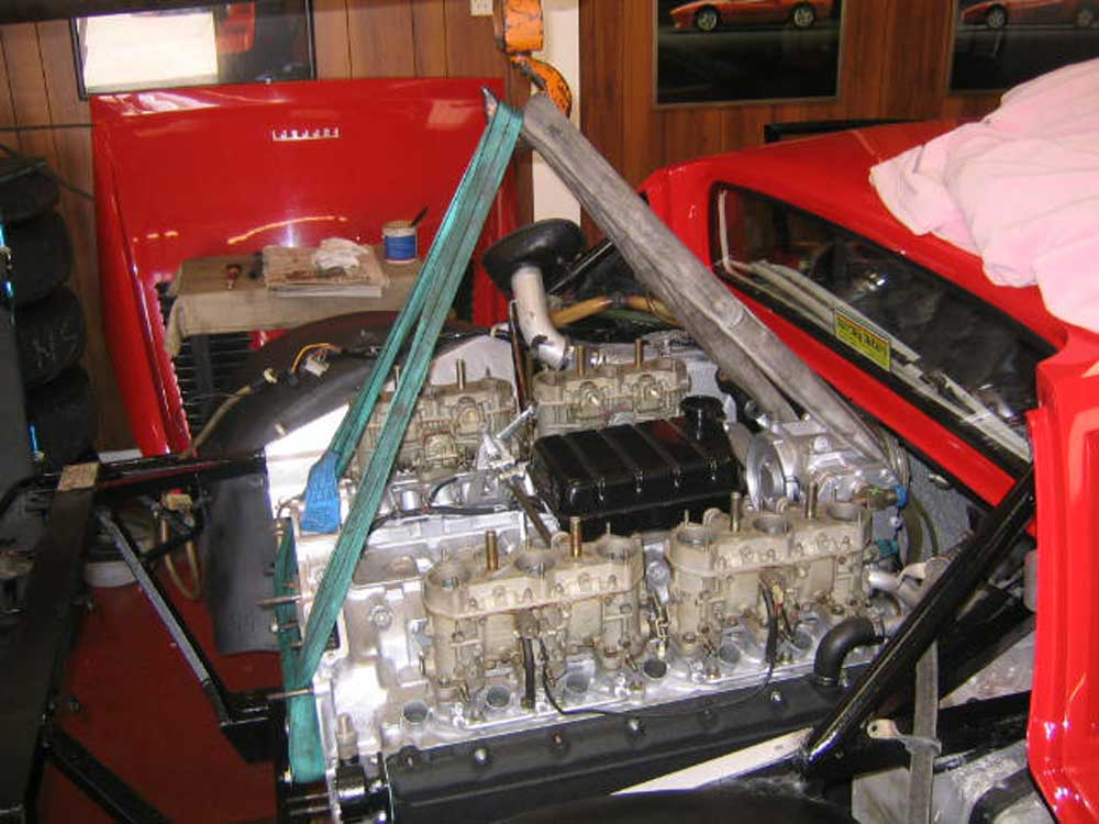 512 BB -engine back in!