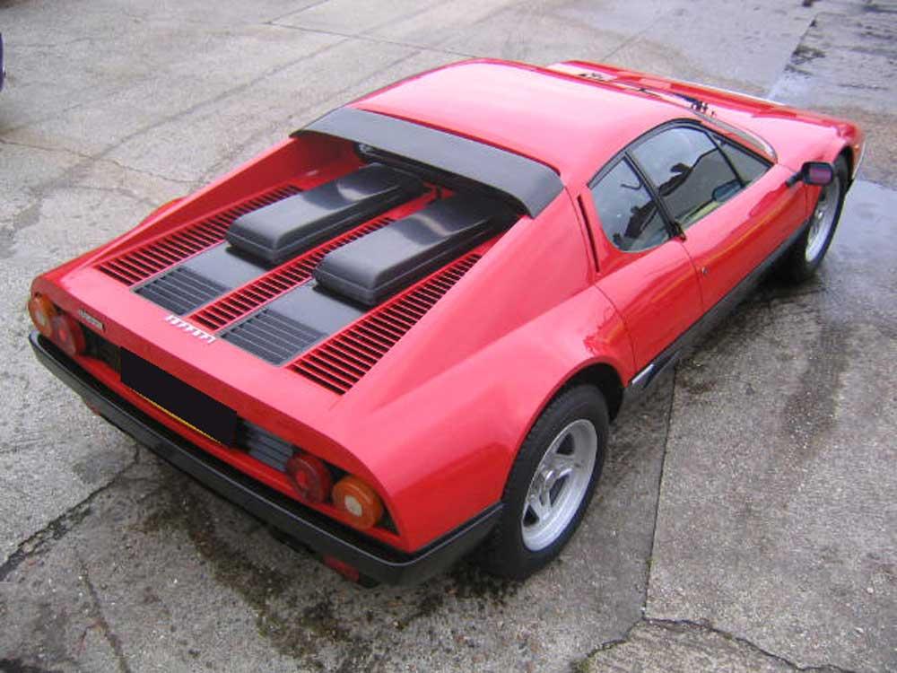 1982 Ferrari 512 BBi second restoration project