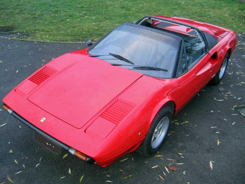 Fate-1980 Ferrari 308 GTS with 10,500 miles