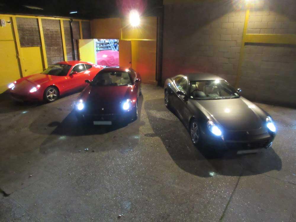 Ferrari 612's