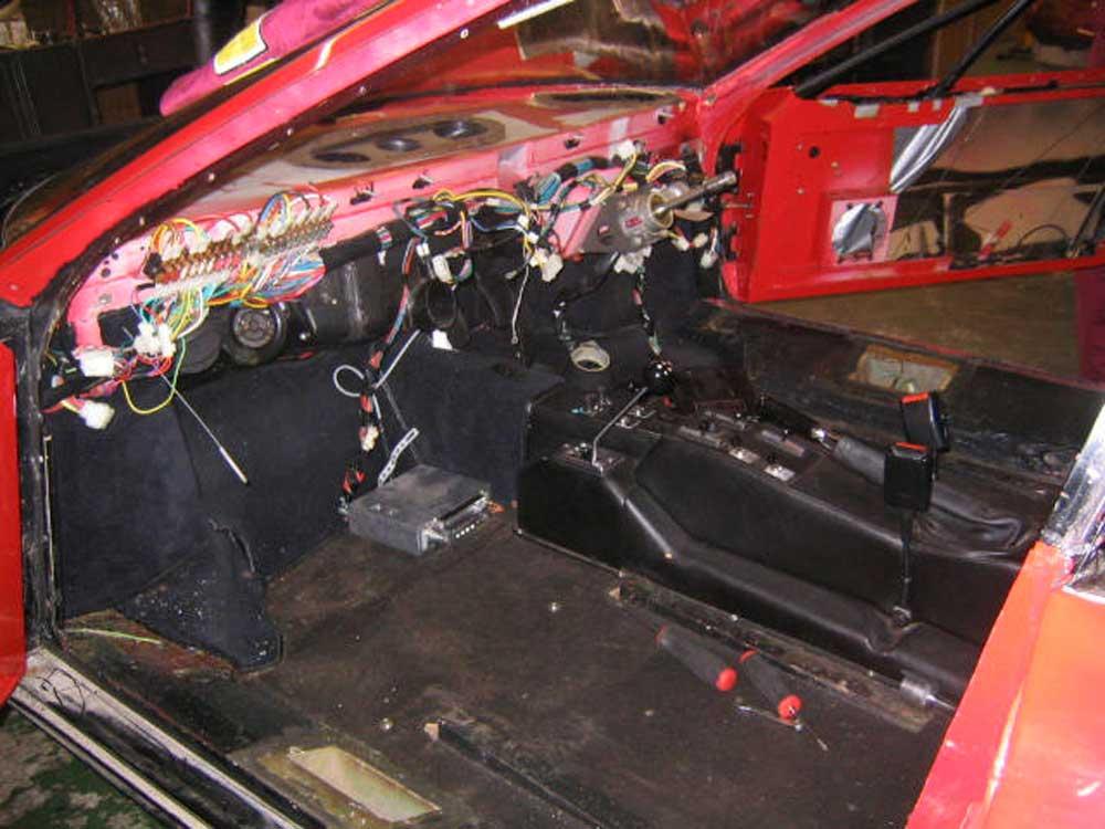 Ferrari 512 BBi restorations