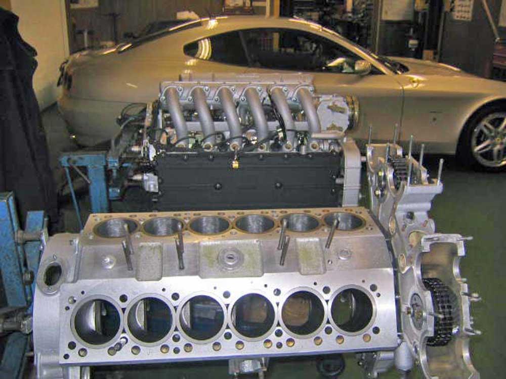 """Daytona"" & 512 BBi engines and 612 Scaglietti"