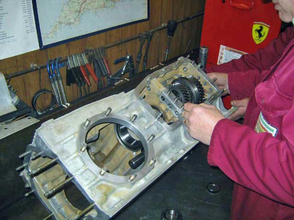 512 BBi gearbox rebuild