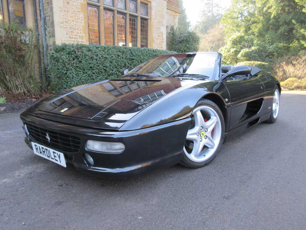 1996 Ferrari 355 spider six speed manual