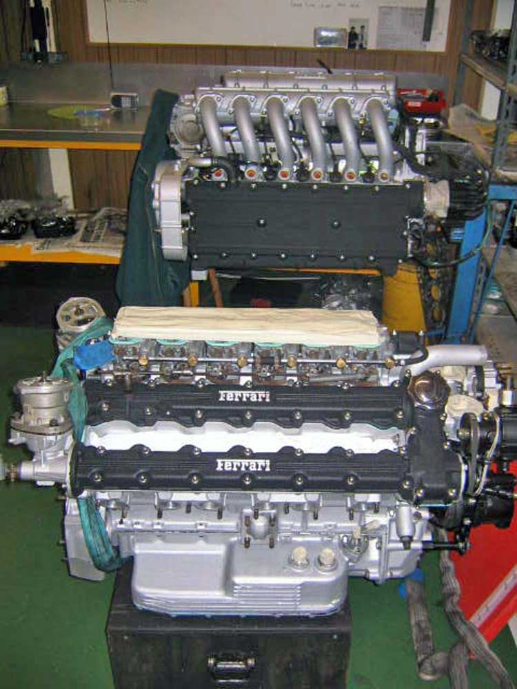 Daytona engine rebuild completed