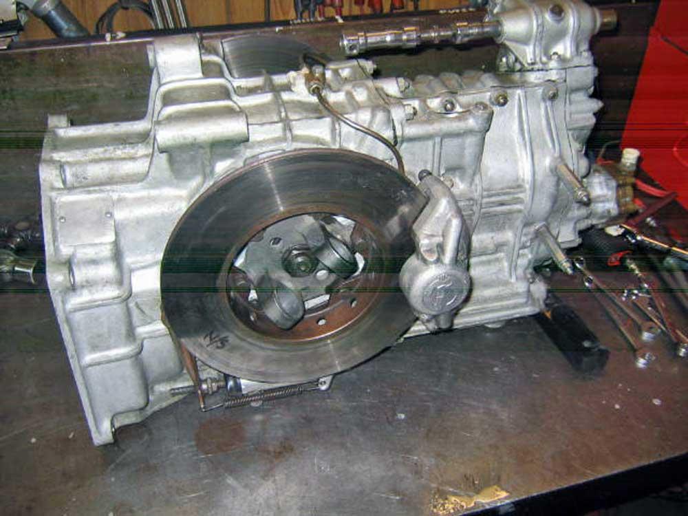 Tasman gearbox
