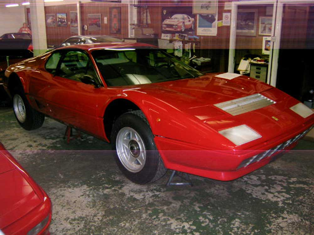 Ferrari 512BB restoration