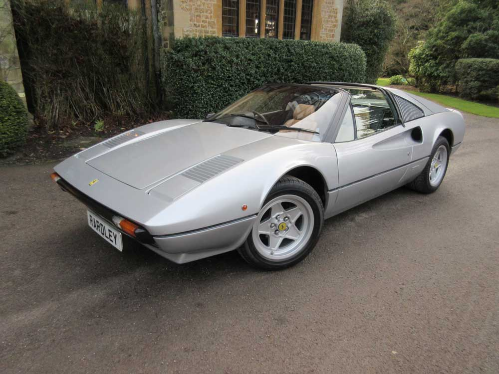1981 Ferrari 308 GTS Two owners/20,000 miles