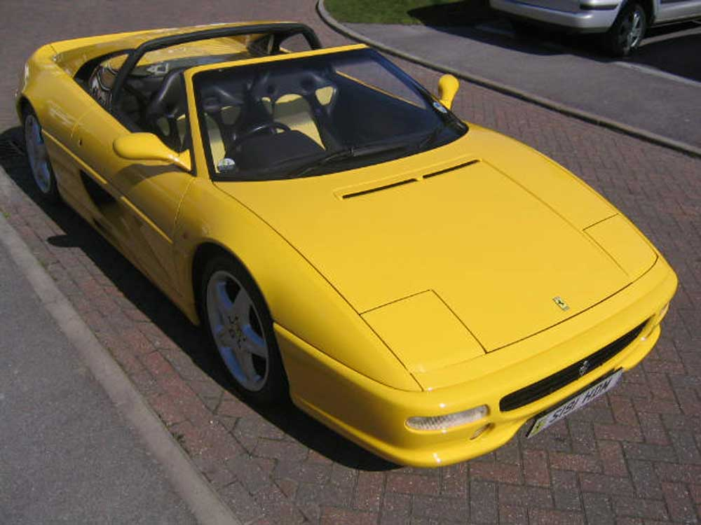 1998 Ferrari 355 GTS F1 Sold-Another similiar required