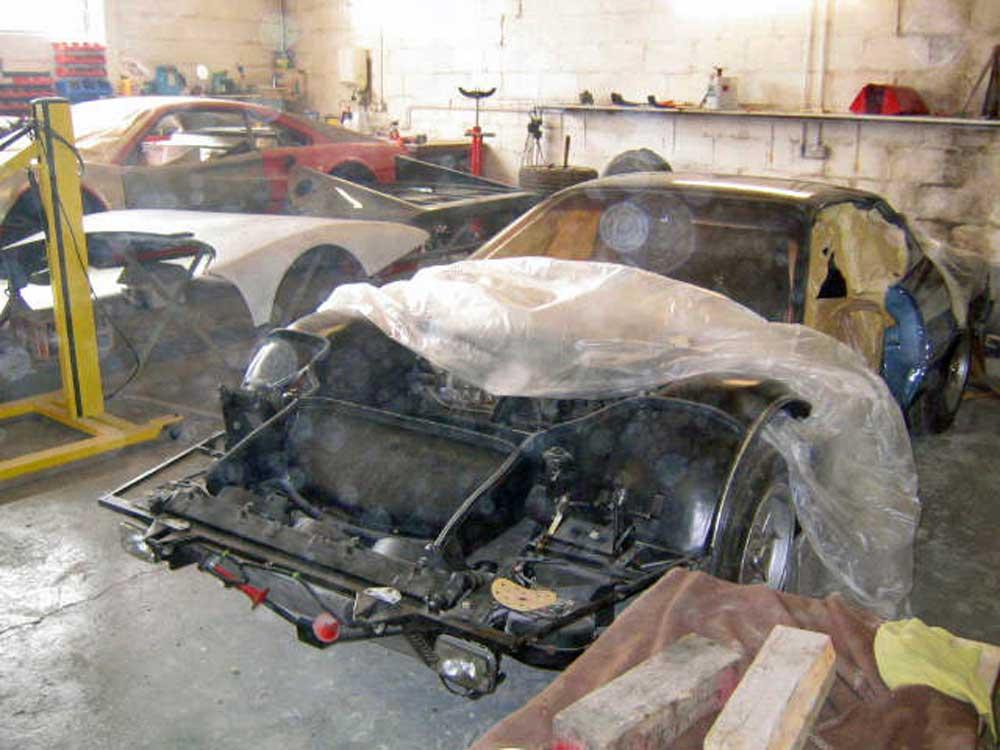 Ferrari 512 BBI restoration