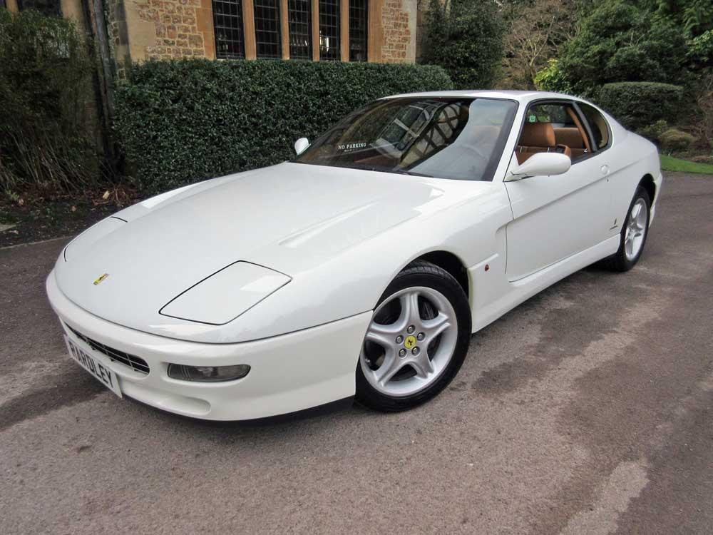 1995 model Ferrari 456 GT Left hand drive