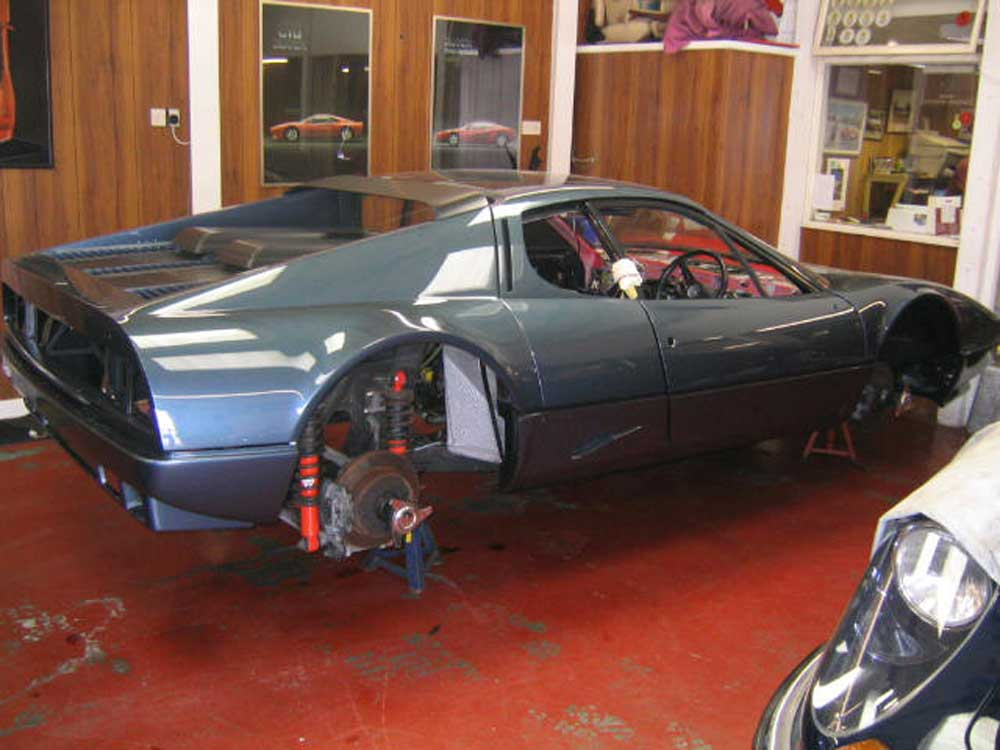 512 BBi returns from the paintshop