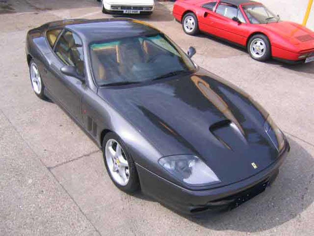 1999 Ferrari 550 Maranello -Left hand drive.
