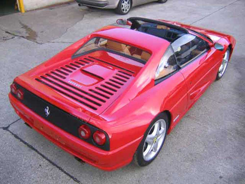 1999 Ferrari 355 GTS F1-7,900 miles & 1 of only 74 examples