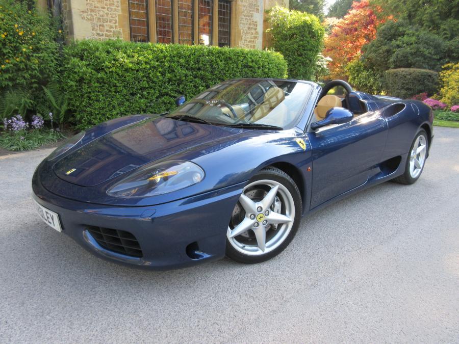 2004 Ferrari 360 F1 spider -18,000 miles