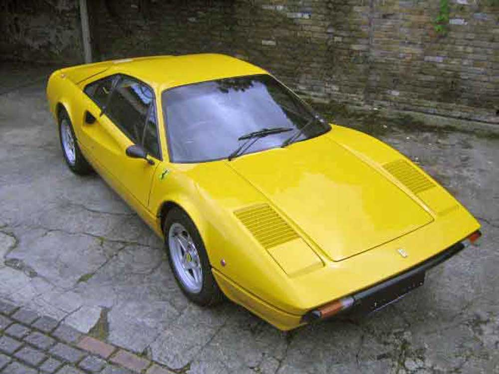 1978 Ferrari 308 GTB finished in Yellow