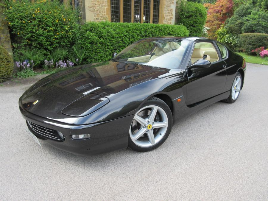 2000 Ferrari 456 M GT 6-speed manual Left hand drive