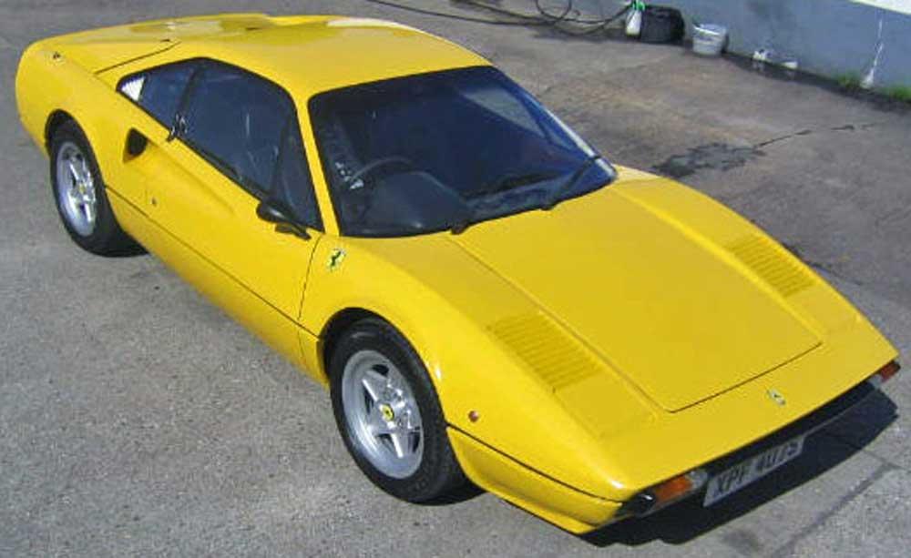 Win a Ferrari 308 GTB