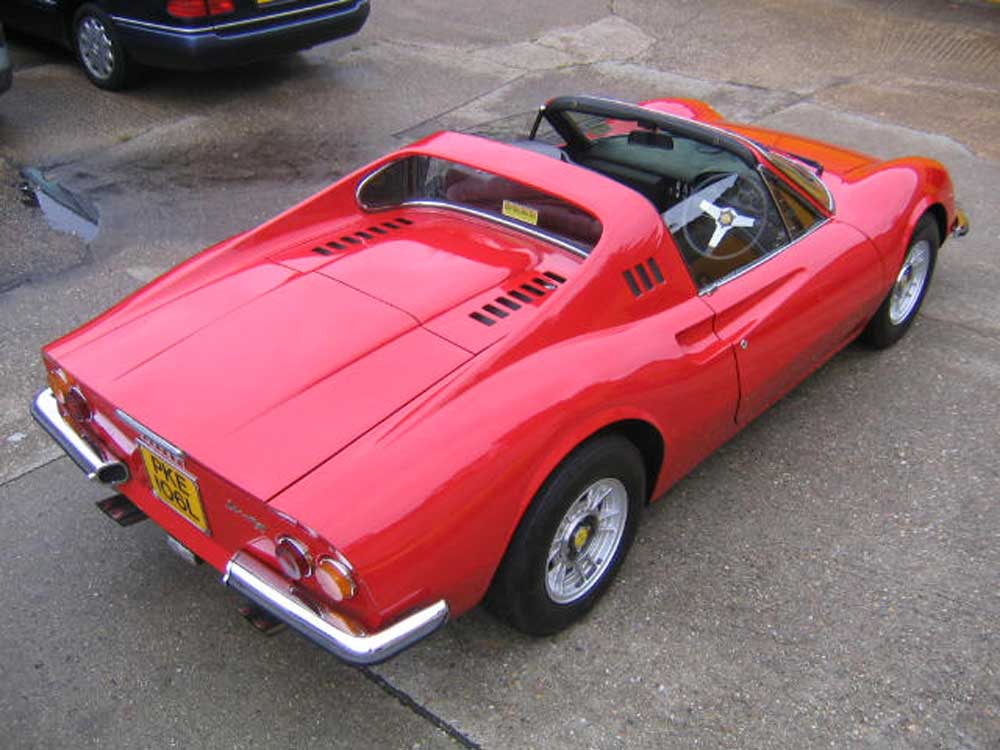 1973 246 GTS-additional history