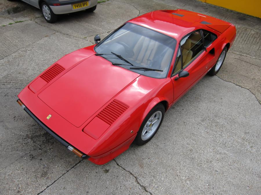 1980 Ferrari 308 GTB -one of just 211 UK examples