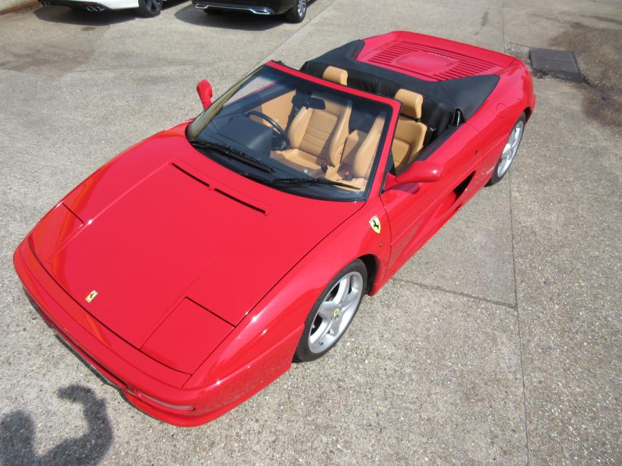 SOLD-ANOTHER REQUIRED Ferrari 355 Spider