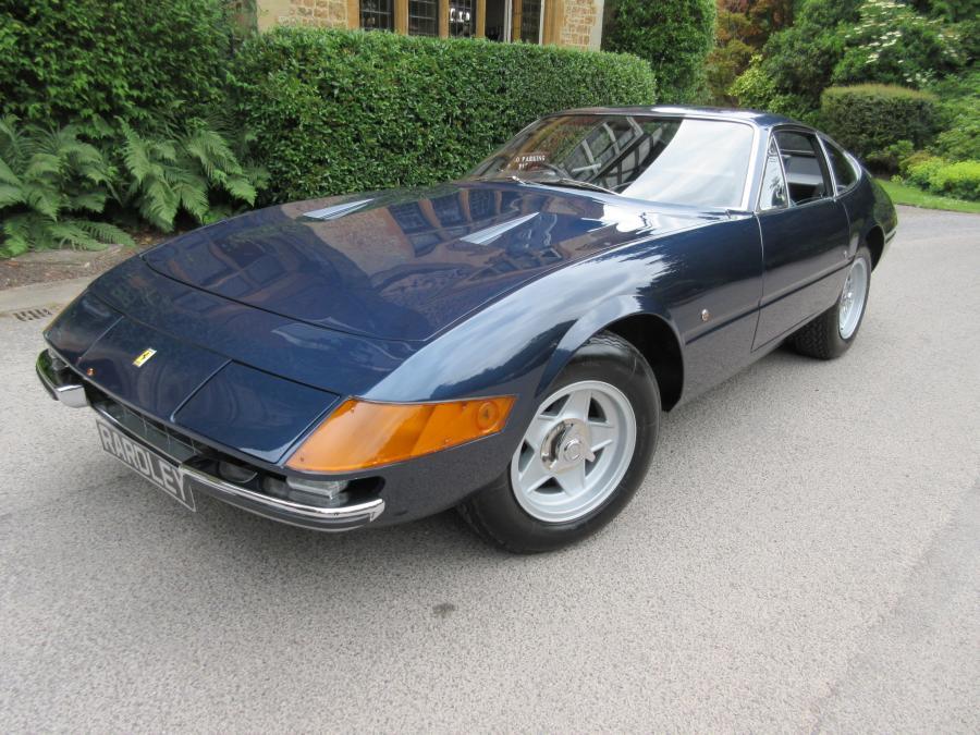 1971 Ferrari 365 GTB/4 Daytona 27,000 miles/3 owners