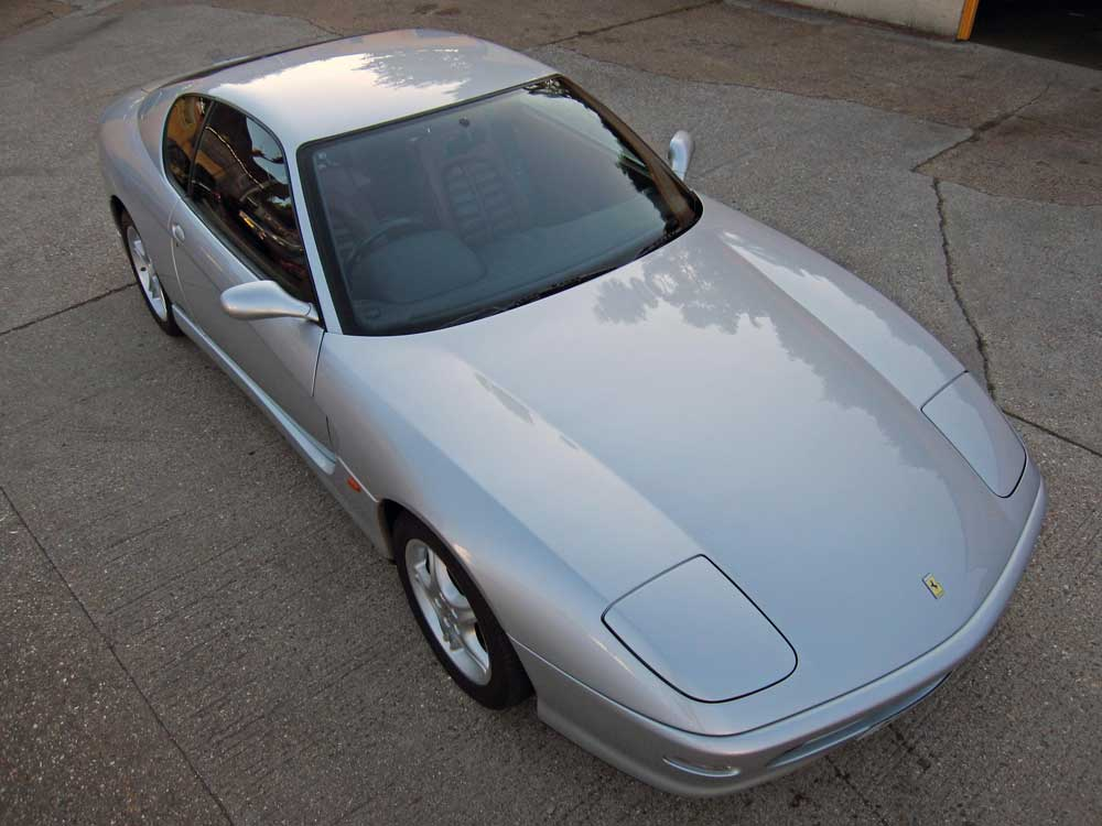 2001 Ferrari 456 M GT 6-speed manual