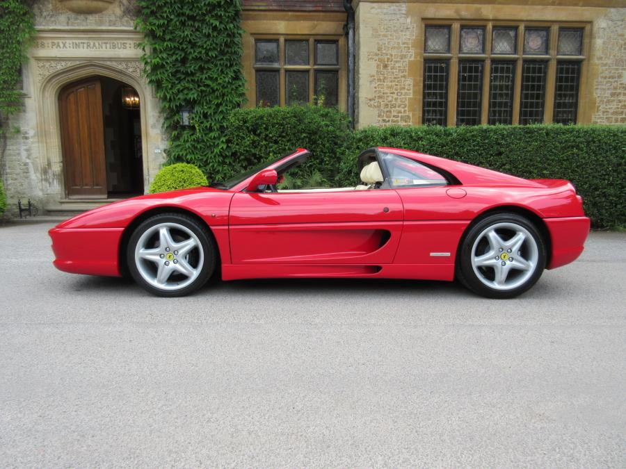 Sold -another required 1996 Ferrari 355 GTS