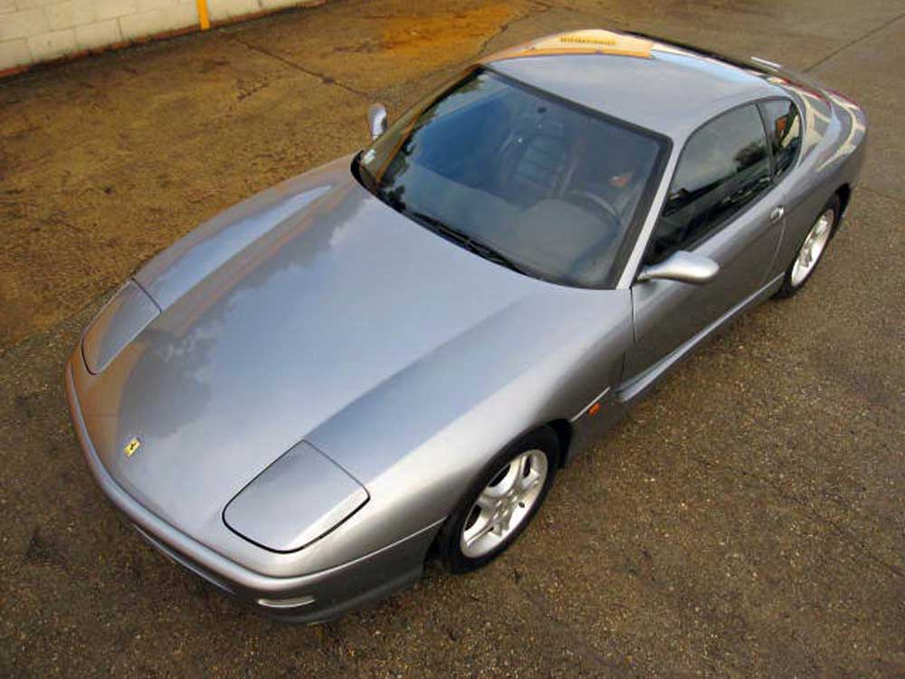 2001 Ferrari 456 Modificato 6-speed manual-LEFT HAND DRIVE