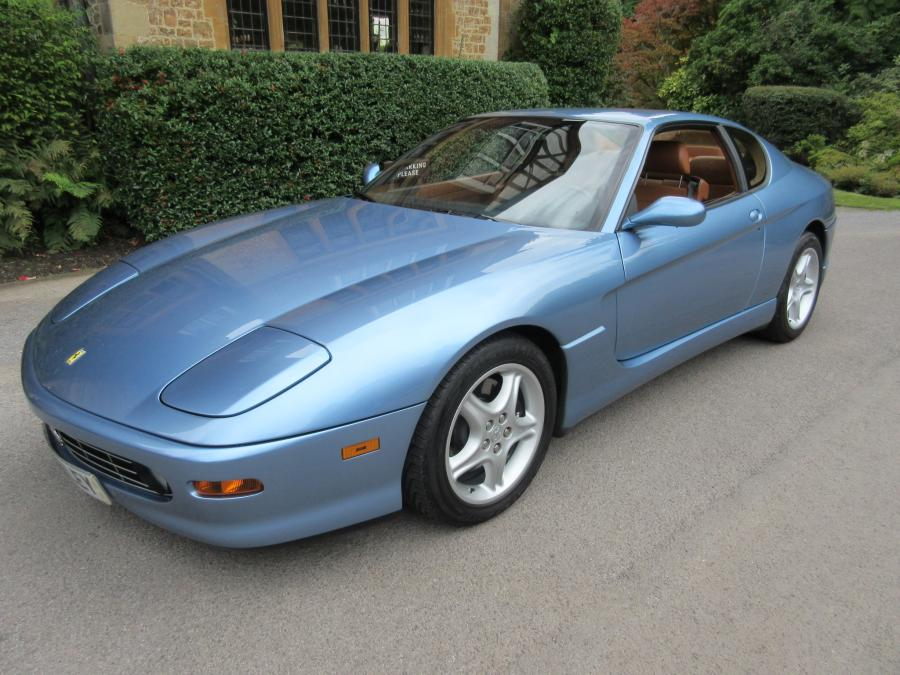 2000 Ferrari 456 M GT manual-Left hand drive