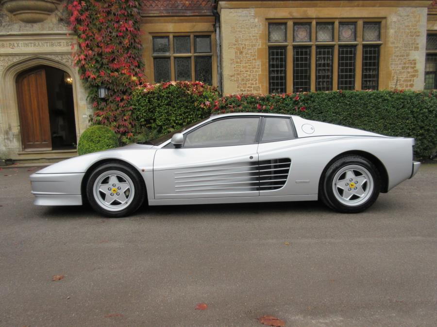Ferrari Testarossa-Sold another required.
