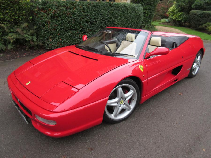 1998 Ferrari F1 spider-one of 139 UK cars