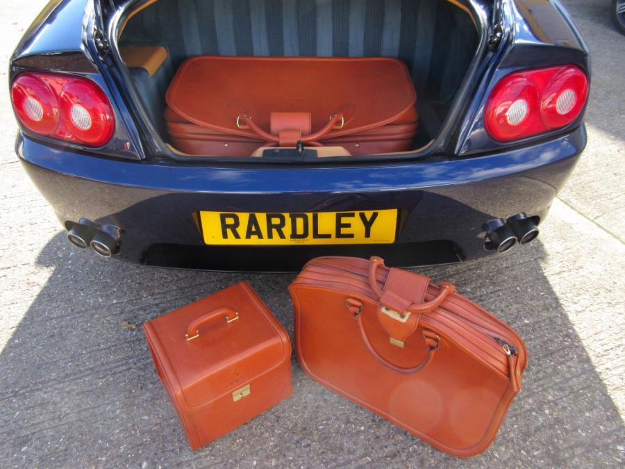 1995 Ferrari 456 GT with fitted luggage
