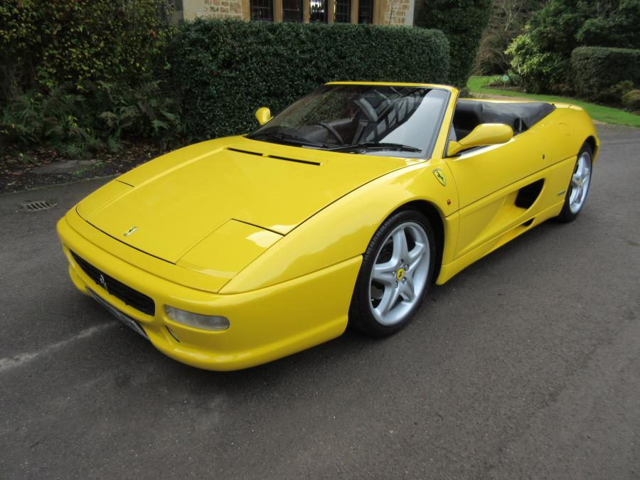 WANTED 355 spider in yellow