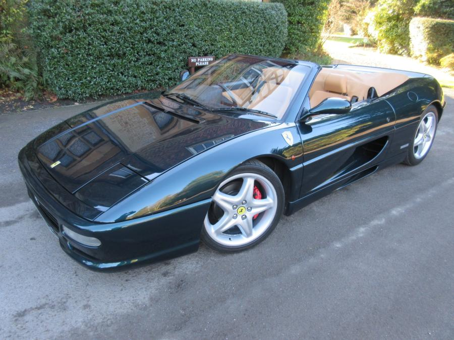 1996 Ferrari 355 spider-Category D.One of just two