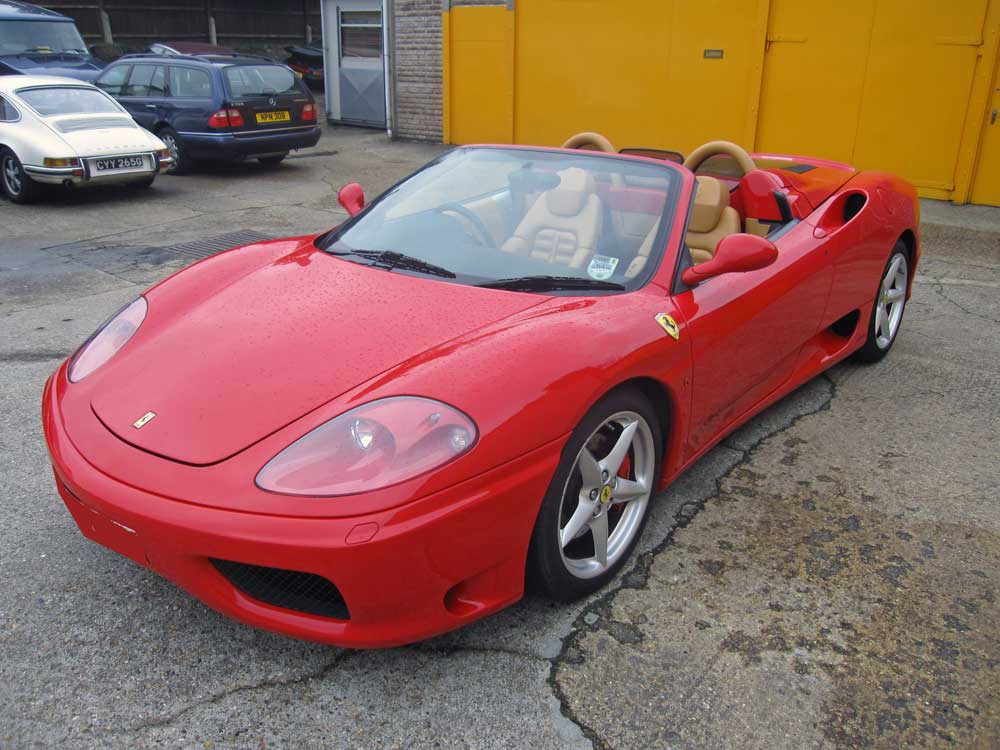 2001 360 F1 Spider-Spoken for-Another required