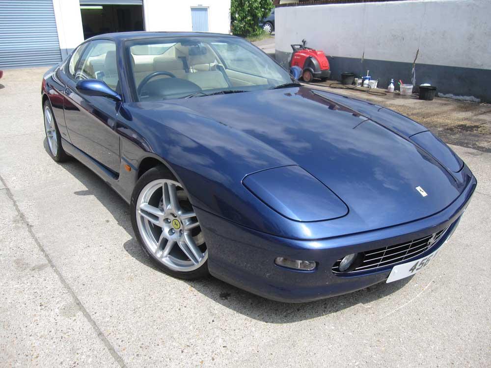 7,000 mile Ferrari 456 M GT Automatic