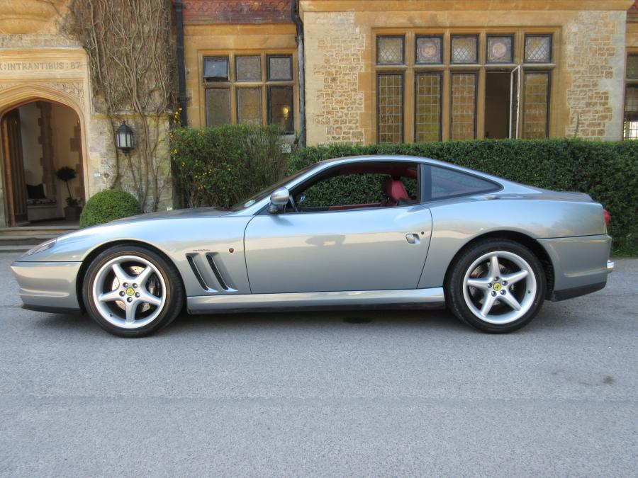 SOLD-ANOTHER keenly required 1997 Ferrari 550 Maranello LHD