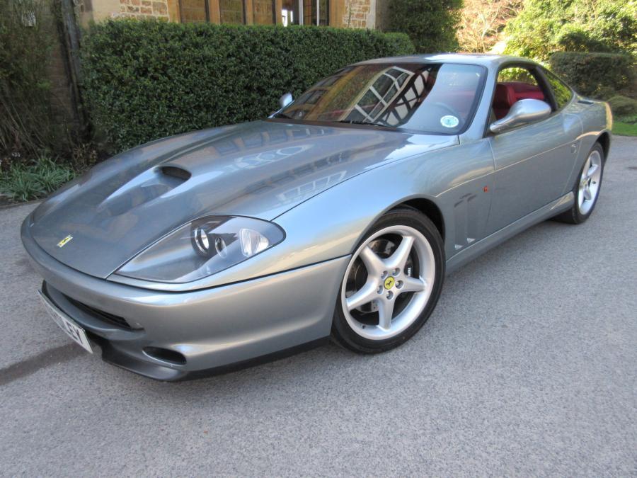 1997 Ferrari 550 Maranello-Left hand drive