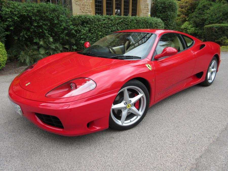 2001 model year Ferrari 360 Modena manual